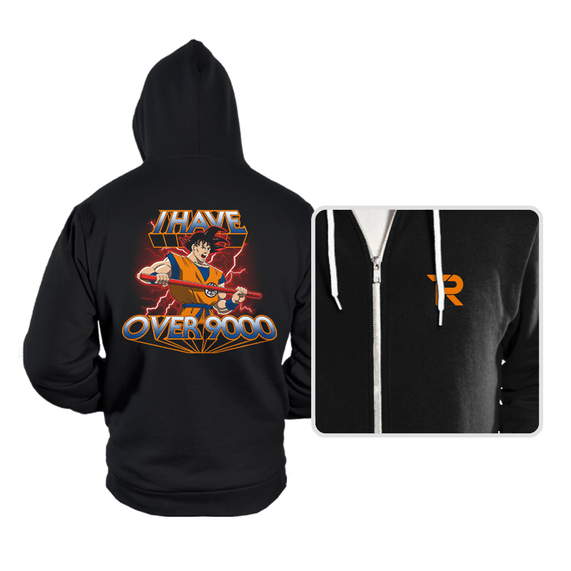 I Have Over 9000 - Hoodies - Hoodies - RIPT Apparel