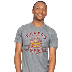 Krang's Gym - Mens - T-Shirts - RIPT Apparel
