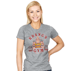 Krang's Gym - Womens - T-Shirts - RIPT Apparel