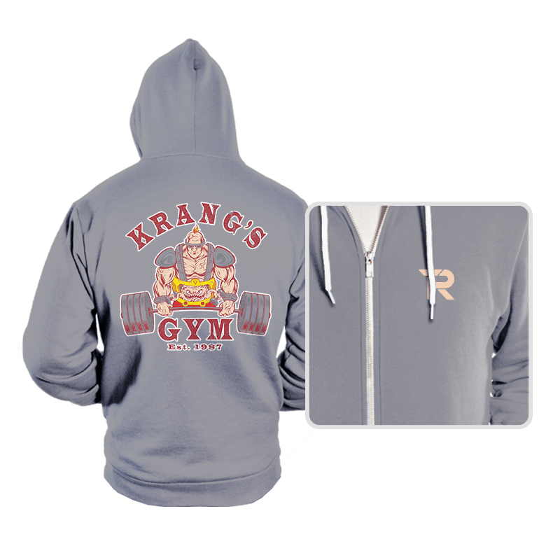 Krang's Gym - Hoodies - Hoodies - RIPT Apparel