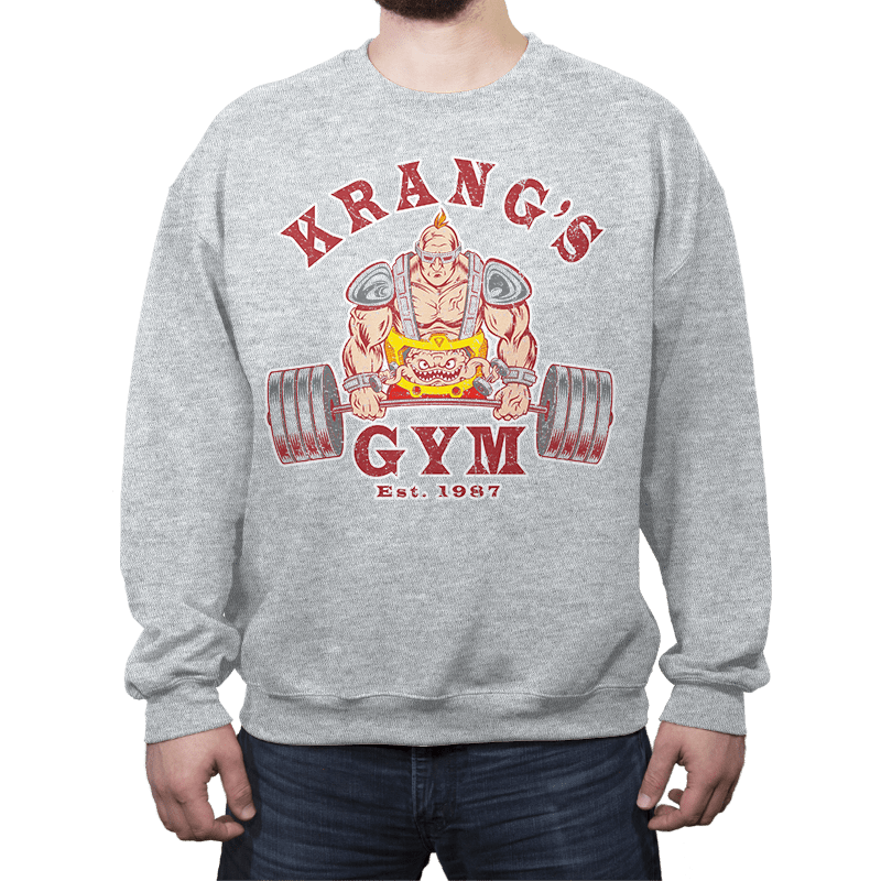 Krang's Gym - Crew Neck - Crew Neck - RIPT Apparel