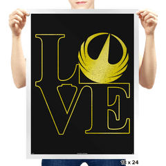 Rogue Love - Prints - Posters - RIPT Apparel