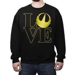 Rogue Love - Crew Neck - Crew Neck - RIPT Apparel