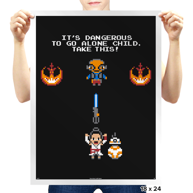 The Legend of Rey - Prints - Posters - RIPT Apparel