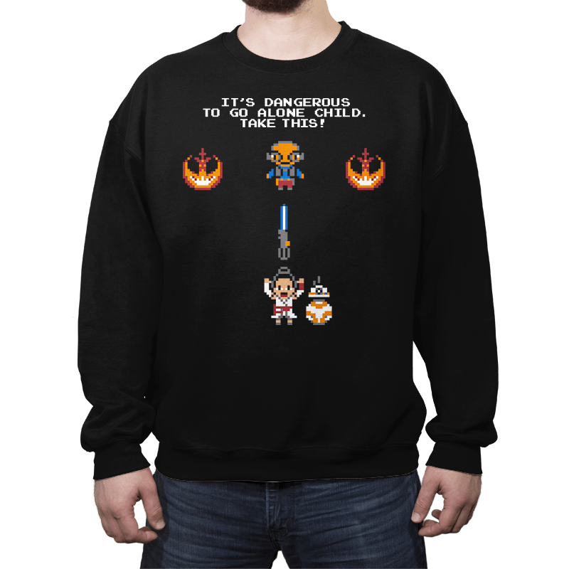 The Legend of Rey - Crew Neck - Crew Neck - RIPT Apparel