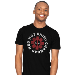 Red Hot Chimi Changas - Mens - T-Shirts - RIPT Apparel
