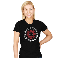 Red Hot Chimi Changas - Womens - T-Shirts - RIPT Apparel