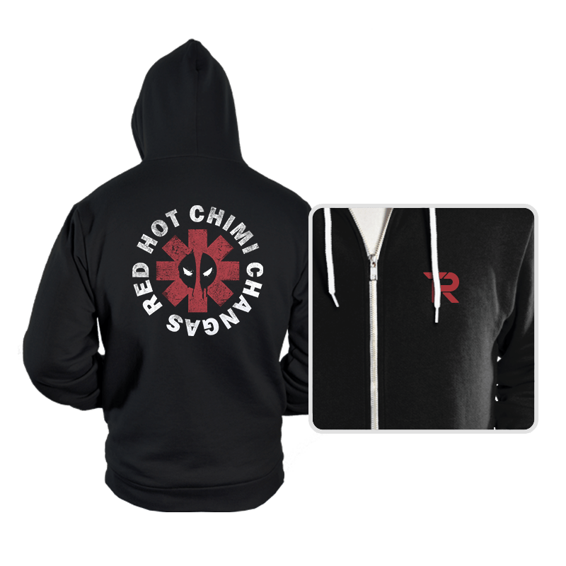 Red Hot Chimi Changas - Hoodies - Hoodies - RIPT Apparel