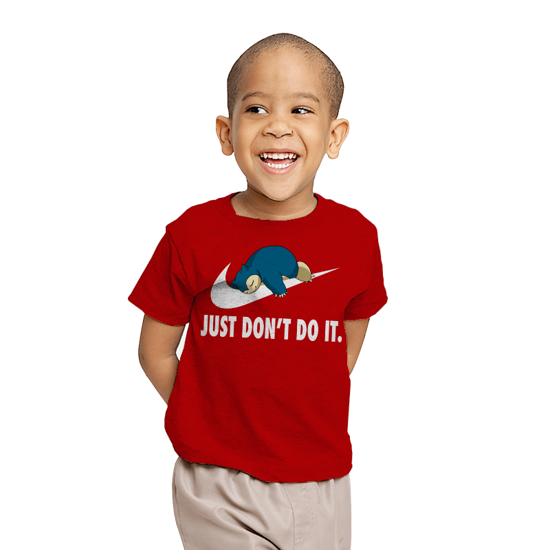 Just Don't Do It - Youth - T-Shirts - RIPT Apparel