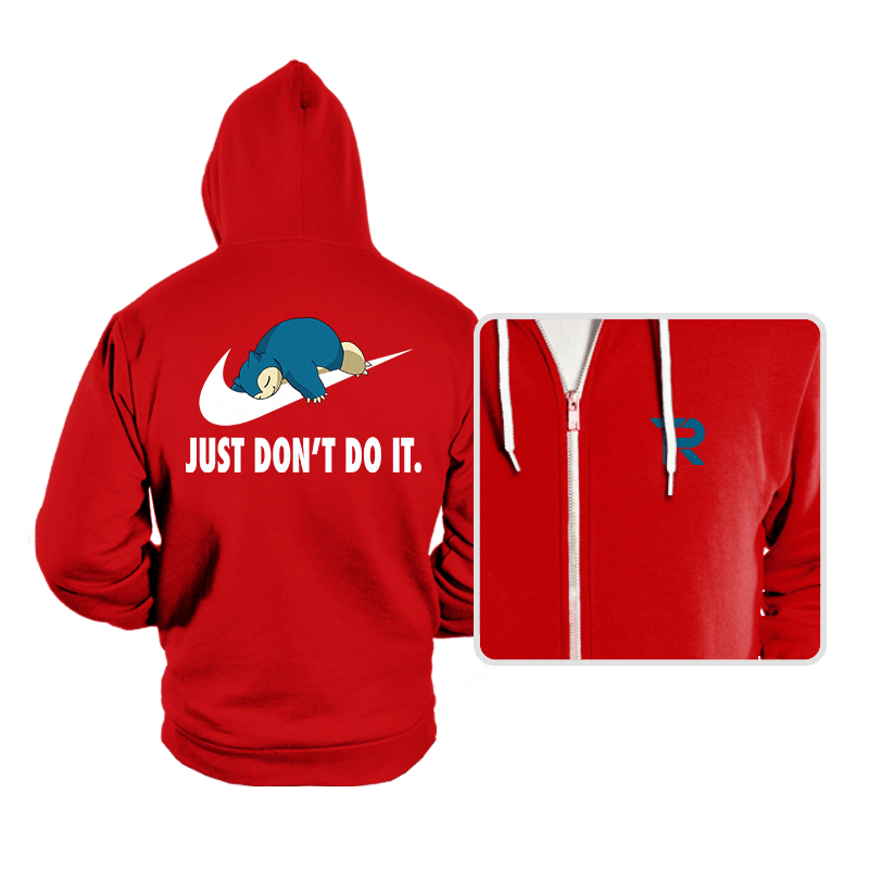 Just Don't Do It - Hoodies - Hoodies - RIPT Apparel