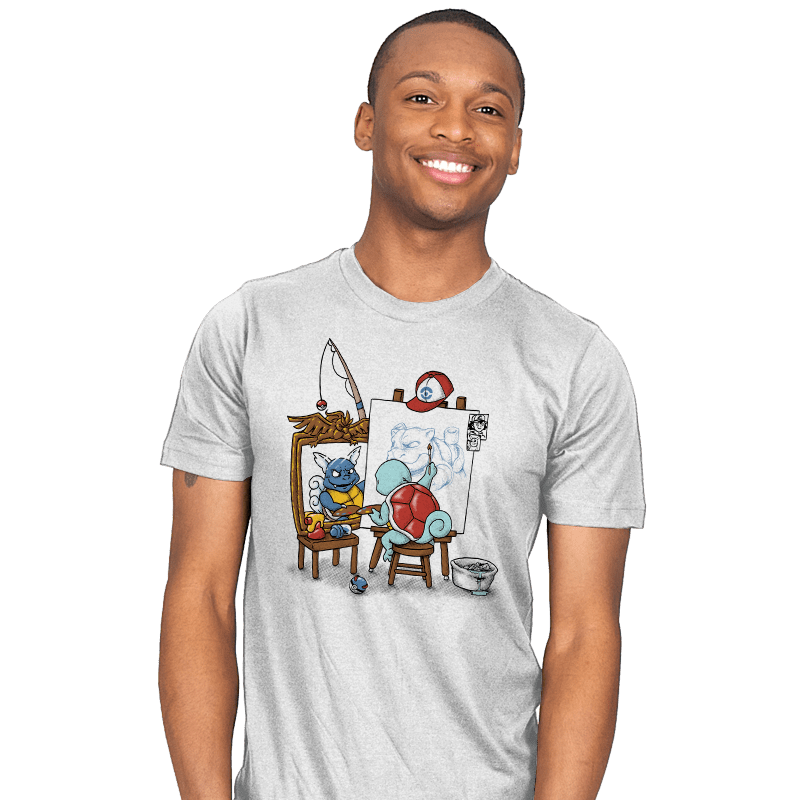 Evolutionary Self-Portrait: Water - Mens - T-Shirts - RIPT Apparel