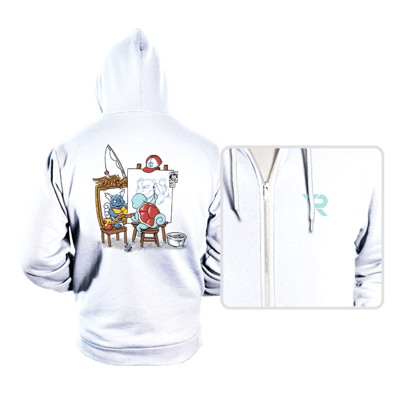 Evolutionary Self-Portrait: Water - Hoodies - Hoodies - RIPT Apparel