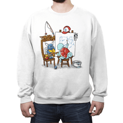 Evolutionary Self-Portrait: Water - Crew Neck - Crew Neck - RIPT Apparel