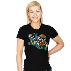 60's Paper Heroes - Womens - T-Shirts - RIPT Apparel
