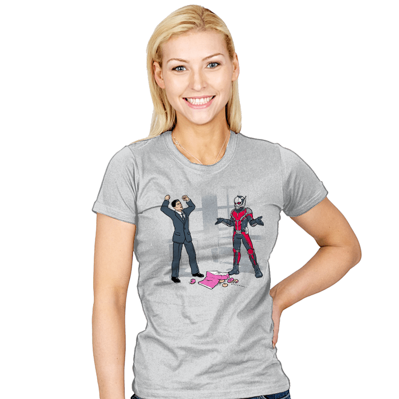 And That's How You Get Ants, Man Exclusive - Womens - T-Shirts - RIPT Apparel