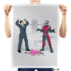 And That's How You Get Ants, Man Exclusive - Prints - Posters - RIPT Apparel