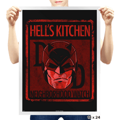 Hell's Kitchen Neighborhood Watch Exclusive - Prints - Posters - RIPT Apparel