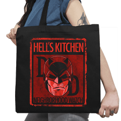 Hell's Kitchen Neighborhood Watch Exclusive - Tote Bag - Tote Bag - RIPT Apparel