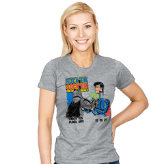 Rock 'em Sock 'em Super Friends Exclusive - Womens - T-Shirts - RIPT Apparel