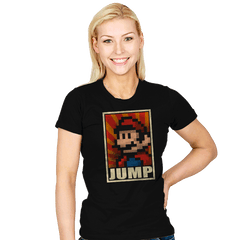 Jump! - Womens - T-Shirts - RIPT Apparel