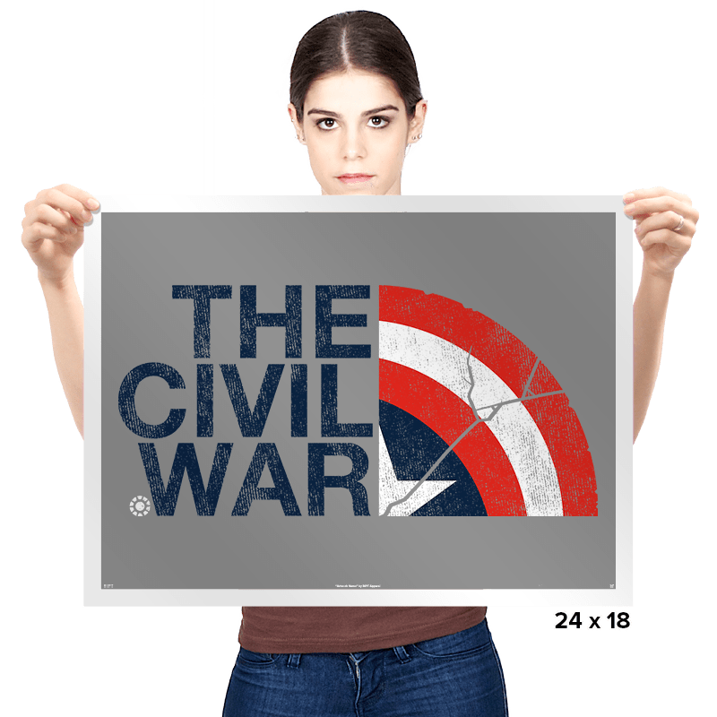 The Civil War Exclusive - Prints - Posters - RIPT Apparel