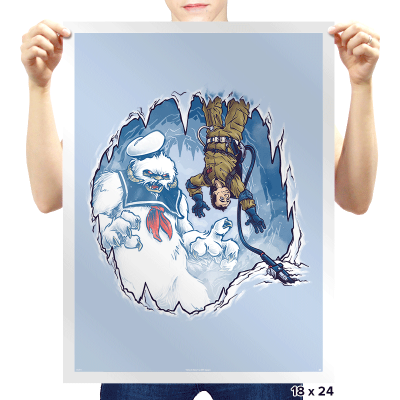 The Wampuft Marshmallow Man Exclusive - Prints - Posters - RIPT Apparel