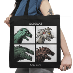 Godzillaz - Kaiju Days Exclusive - Tote Bag - Tote Bag - RIPT Apparel