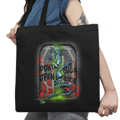 Don't Open Bugs Inside Exclusive - Tote Bag - Tote Bag - RIPT Apparel