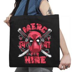 Merc for Hire Exclusive - Tote Bag - Tote Bag - RIPT Apparel