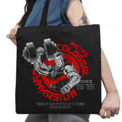 Colossal Gym Exclusive - Tote Bag - Tote Bag - RIPT Apparel