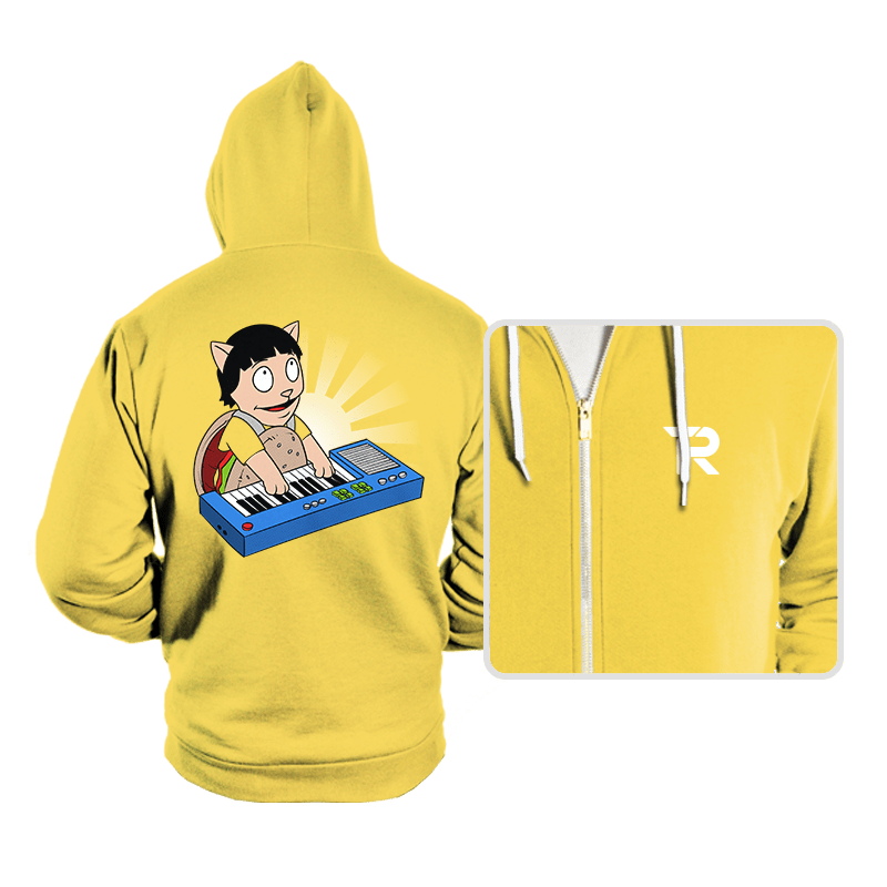 Keyboard Burger Cat - Hoodies - Hoodies - RIPT Apparel