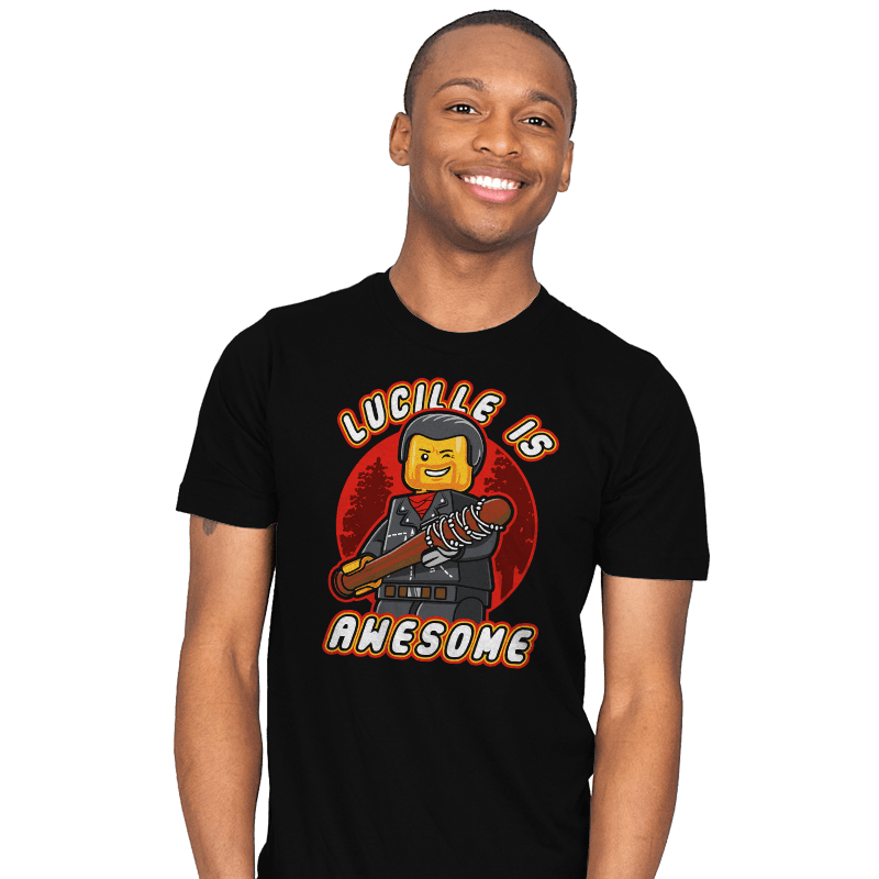 Lucille is Awesome - Mens - T-Shirts - RIPT Apparel