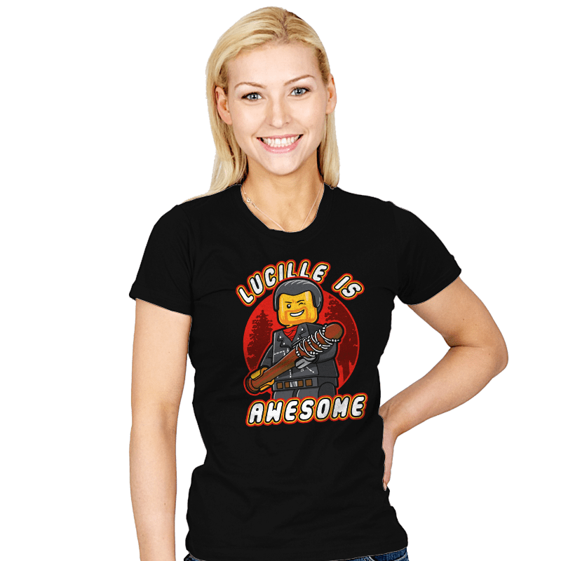 Lucille is Awesome - Womens - T-Shirts - RIPT Apparel