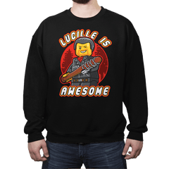 Lucille is Awesome - Crew Neck - Crew Neck - RIPT Apparel