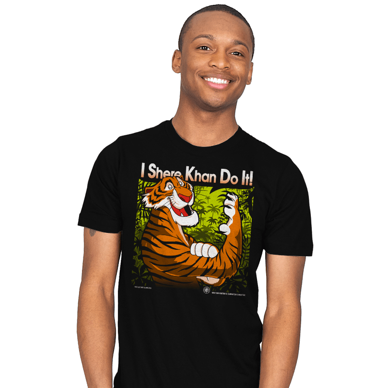 The Tiger Khan Do It - Mens - T-Shirts - RIPT Apparel