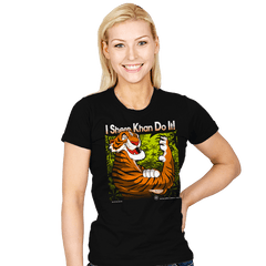 The Tiger Khan Do It - Womens - T-Shirts - RIPT Apparel