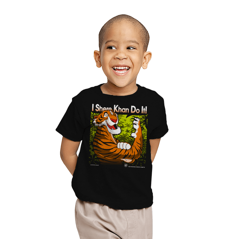 The Tiger Khan Do It - Youth - T-Shirts - RIPT Apparel