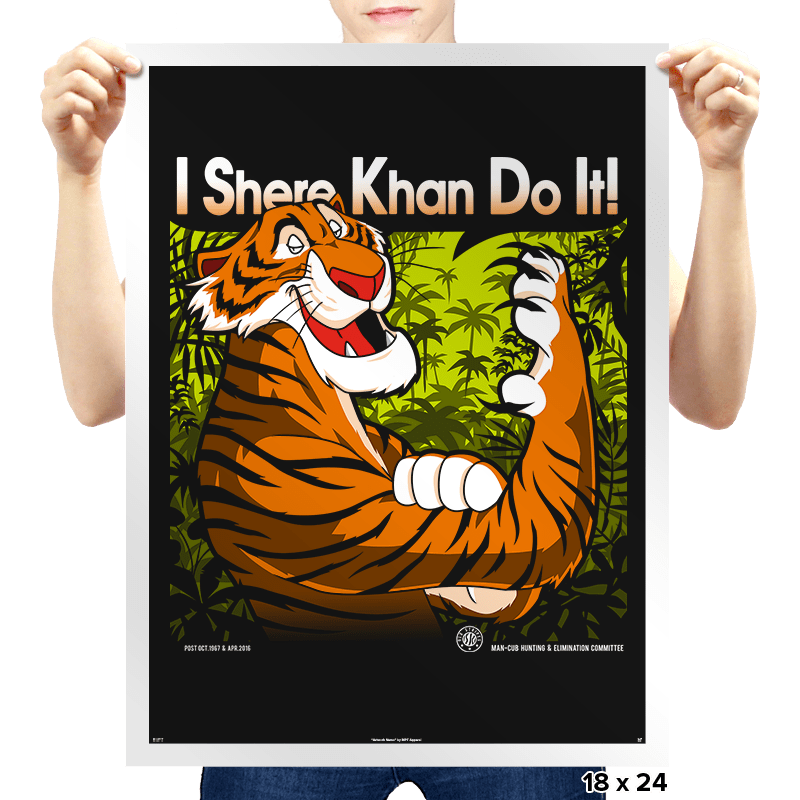 The Tiger Khan Do It - Prints - Posters - RIPT Apparel