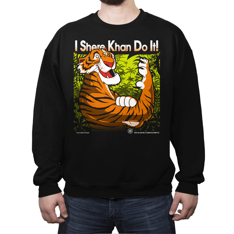 The Tiger Khan Do It - Crew Neck - Crew Neck - RIPT Apparel