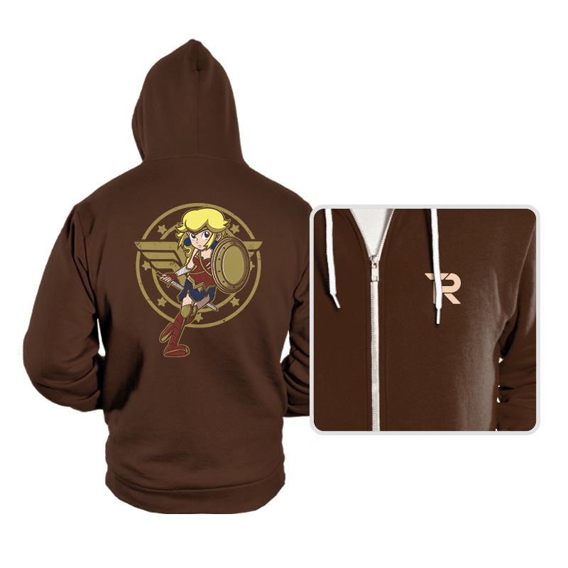 Wonder Peach - Hoodies - Hoodies - RIPT Apparel