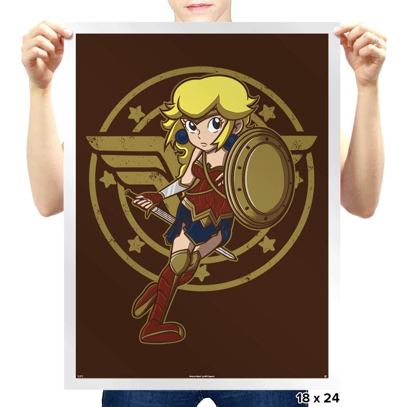 Wonder Peach - Prints - Posters - RIPT Apparel