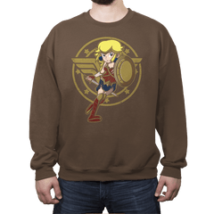 Wonder Peach - Crew Neck - Crew Neck - RIPT Apparel