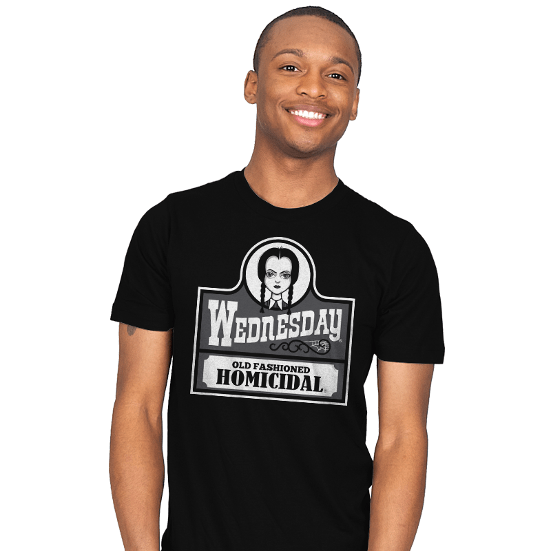 Old Fashioned Homicidal - Mens - T-Shirts - RIPT Apparel