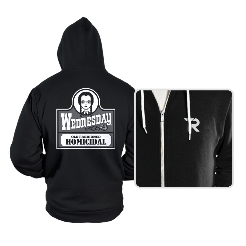 Old Fashioned Homicidal - Hoodies - Hoodies - RIPT Apparel