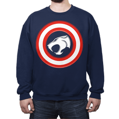 Shield of Omens - Crew Neck - Crew Neck - RIPT Apparel