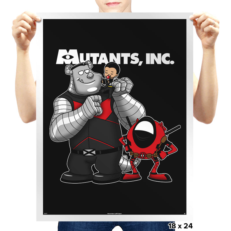Mutants, Inc. - Prints - Posters - RIPT Apparel
