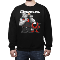 Mutants, Inc. - Crew Neck - Crew Neck - RIPT Apparel