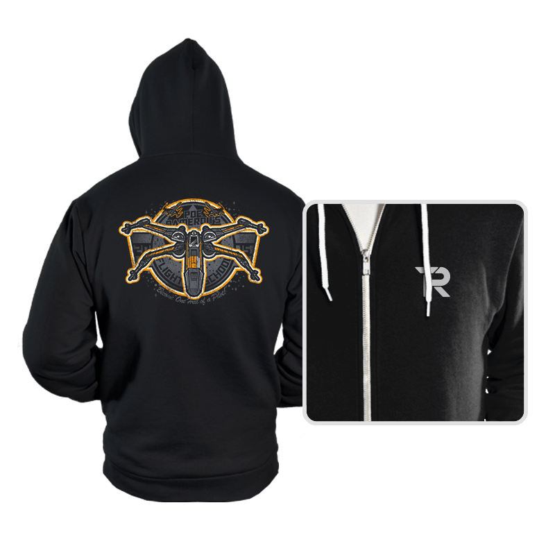 Poe's Flight School - Hoodies - Hoodies - RIPT Apparel