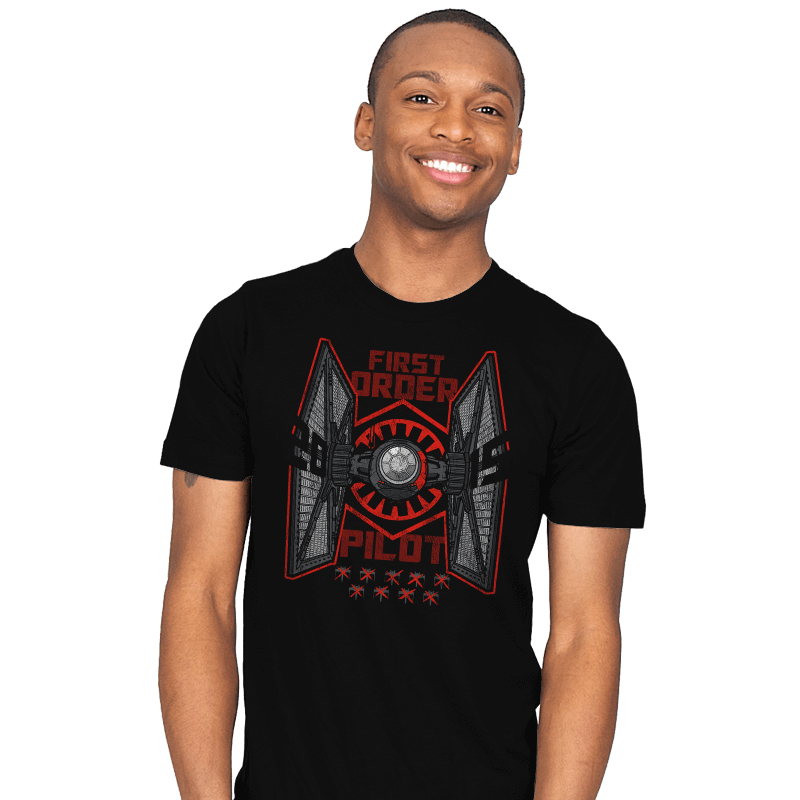 Tie Pilot - Mens - T-Shirts - RIPT Apparel