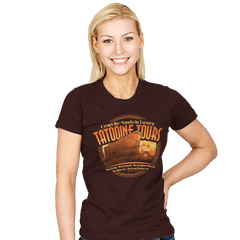 Tatooine Tours - Womens - T-Shirts - RIPT Apparel